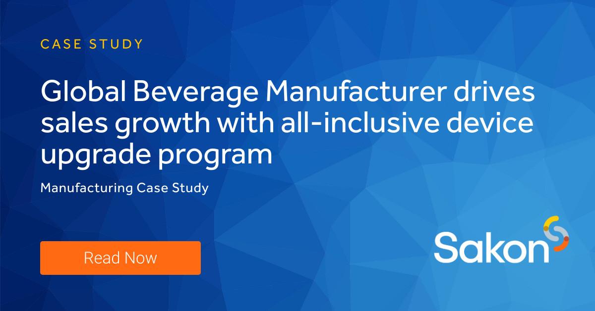 Beverage Manufacturer Case Study