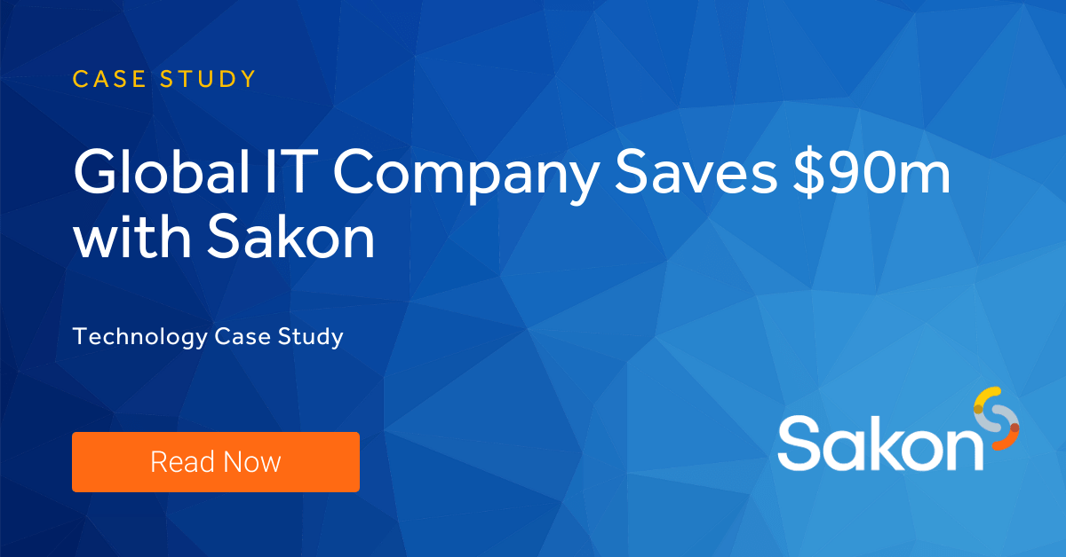 Global IT Firm Saves $90m-1